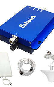 lintratek dual-band signaal booster CDMA 850MHz + DCS 1800MHz repetidor gsm repeater 850 1800 volledige booster sets
