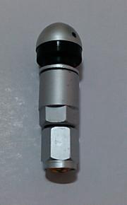 4 stuks bolt-in auto-auto aluminium tubeless wiel band ventiel met stofkap