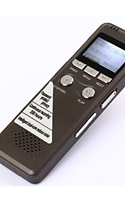 staal 8gb digitale voice recorder 350hr standby dictafoon met mp3-speler goed voor het opnemen van telefoongesprekken
