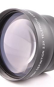 62mm 2.2x telekonverter objektiv monteret generelle formål for canon nikon kaliber 62mm kamera kan bruges