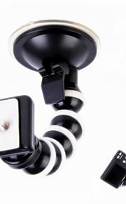 360 graden roterende monopod octopus zuignap mount voor camera / gps / dv