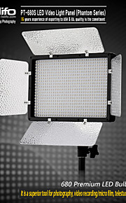 PT-680S illuminazione LED Illuminazione video digitale