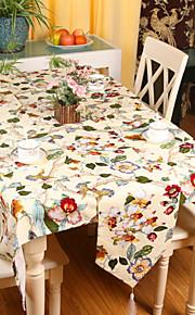 """pastorale stil af høj kvalitet blomstret print bordløber (13 """"x79"""")"""