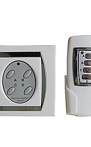 4-kanaals digitale draadloze afstandsbediening schakelaar