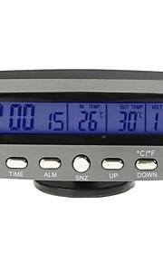 bil auto termometer spænding med is alarm