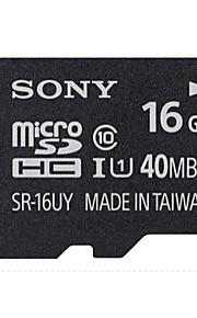 sony 16gb tf (MicroSDHC) UHS-1 (Class10) 40m / s flash-hukommelseskort med høj hastighed ægte