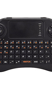 viboton x3 all-in-one mini tastiera qwerty / telecomando / mouse dell'aria con touchpad per home office 2.4ghz