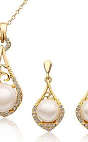 Jewelry Sets - Naisten koot - Metalliseos - Valkoinen