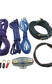 L801 Auto Car RCA Audio Amplifier Wiring Kit with Fuse Holder