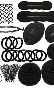 veving hår verktøy kombinasjon 9 sett