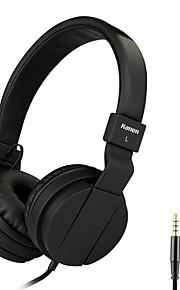 letvægts folde 3.5mm stereo over-ear hovedtelefoner bærbare stretch headsets læder ørepuder med indbygget mikrofon