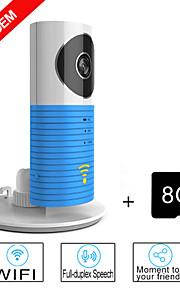 besteye® 8GB TF-kaart en slimme camera ip met ir nachtzicht draadloze wifi surveillance camera