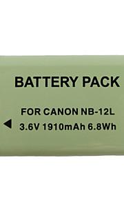 12l 1910mah camera batterij voor canon G1X Mark II N100 mini x