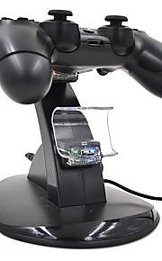 PS4 - # Recargable - Plástico - USB - Adaptador y Cable -
