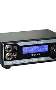 avansert ledet tatovering strømforsyning med støpsel digitalt display forsyning for kit maskingevær profesjonell tatovering forsyning