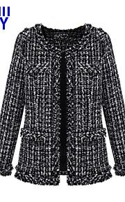 ZAY Women's Autumn New Casual Long Sleeve Cardigan Coat