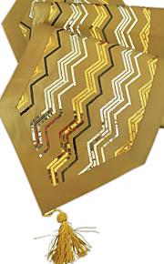золото блесток с кисточкой искры украшения стола runne