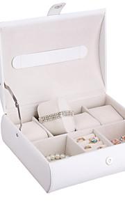 montres amphibies boîte non personnalisé glam en similicuir de bijoux avec 4 emplacements regarder boîte de présentation des bijoux de cas