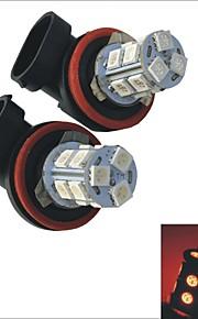 2pcs carking ™ H8 / H11 1.5W 13x5050smd lampadina fendinebbia 125ml posteriore auto (12V DC)