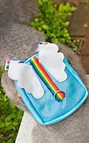 grin med pets® dejlig fløj af englen form rejse rygsæk til kæledyr hunde (assorterede farver, størrelser)