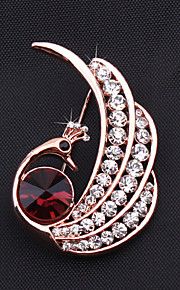 Broche Alliage Or rose Femme