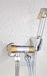 ottone cromato multifunzionale vestito spruzzatore pistola bagno bidet rubinetto rubinetto