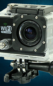 sport HD DV impermeabile di sport supporto fotocamera wifi FullHD 1080p azione