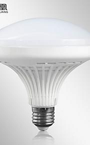 1шт zhonghuang E27 16w 60x5730 2700-3200k / 6000-6500K теплый белый шар 220В