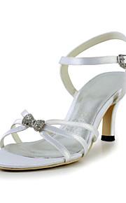 Chaussures Femme - Mariage / Bureau & Travail / Habillé / Décontracté / Soirée & Evénement - Blanc - Talon Aiguille - Talons / Bout Ouvert