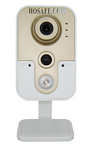 Dag Nacht/Bewegingsdetectie/Dual Stream/Remote Access/IR-cut/Wifi Protected Setup/Plug and play - Binnen - HOSAFE - Mini - IP Camera