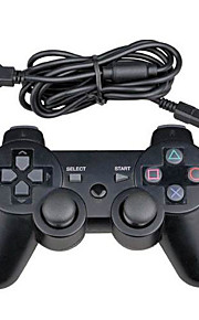 wired controller Dual Shock sei assi per console ps3 gioco del pc