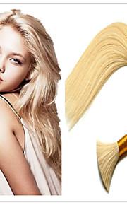 """3шт / серия оптовые индийские волосы расширений сыпучих, 100% девственных человеческого волоса часть волос 14 """"-32"""" 100g / шт # 613"""