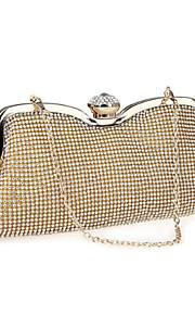 Luxury Ladies Crystal Rhinestone Evening bags Clutch Handbag Party Wedding Bridal Bags