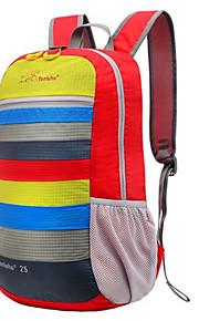 Paquetes de Mochilas de Camping/Ciclismo Mochila/Travel Organizer ( Verde/Rojo/Rosado/Negro/Azul/Morado/Naranja , 25 L)