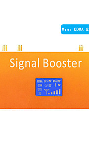 New LCD Display CDMA 850MHz Mobile Phone Signal Repeater Booster Amplifier Coverage 500m²
