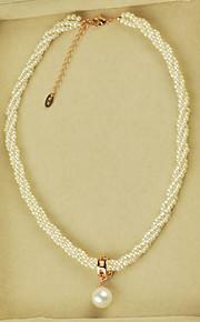 女性用 人造真珠 ジュエリーセット 人造真珠