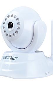 Dag Nacht/Bewegingsdetectie/Dual Stream/Remote Access/IR-cut/Wifi Protected Setup/Plug and play - Binnen - Wanscam - PTZ - IP Camera