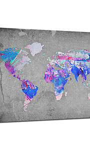 VISUAL STAR®Abstract World Maps Decorating Ideas Stretched Canvas Printing Ready to Hang