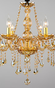 Chandeliers Modern/Contemporary Living Room/Bedroom/Dining Room/Study Room/Office Glass