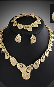 Conjunto de jóias Liga/Strass Mulheres