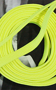 Fabric Insoles & Accessories for Shoelaces Yellow/Green/Pink/Red  One Pair