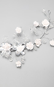 Women's/Flower Girl's Crystal/Alloy Headpiece - Wedding/Special Occasion Flowers 1 Piece