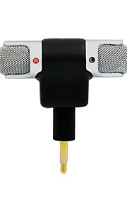pannovo 3,5 mm stik mini stereo mikrofon med 3,5 mm til mini usb micro-adapter kabel til gopro3 / 3 + / 4 og AEE kamera