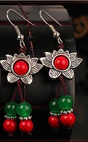 Drop Earrings Women's Agate Earring Onyx