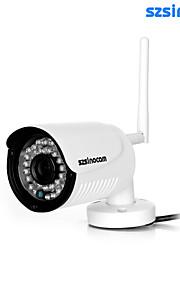 IP Camera - Szsinocam - Al Coperto - Mini -Impermeabile/Giorno Notte/Sensore di movimento/Dual Stream/Accesso Remoto/Installazione
