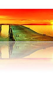 visuelle star®sunset seascape Leinwanddruck moderne Wandkunst fertig zum Aufhängen