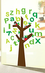 Children's Room For Cartoon English Alphabet  Wall Stickers