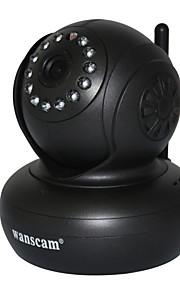 wanscam® draadloze mini ip-camera met pan titel en p2p gratis ondersteunende 32g tif kaart