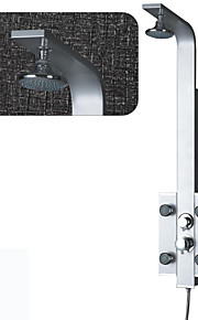 Robinet de douche - Contemporain - Jet de côté / Douchette inclue - Acier inoxydable ( Peintures )