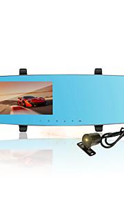 LDWS&FCWS  DVR, Beautiful voice remind, Front 1080P,Rear 720P,Daul Lens, Rear Built-in Lens, 4.3' Screen Size;